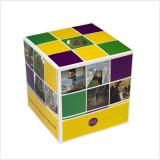 custom printed tissue box cube with 80 tissues